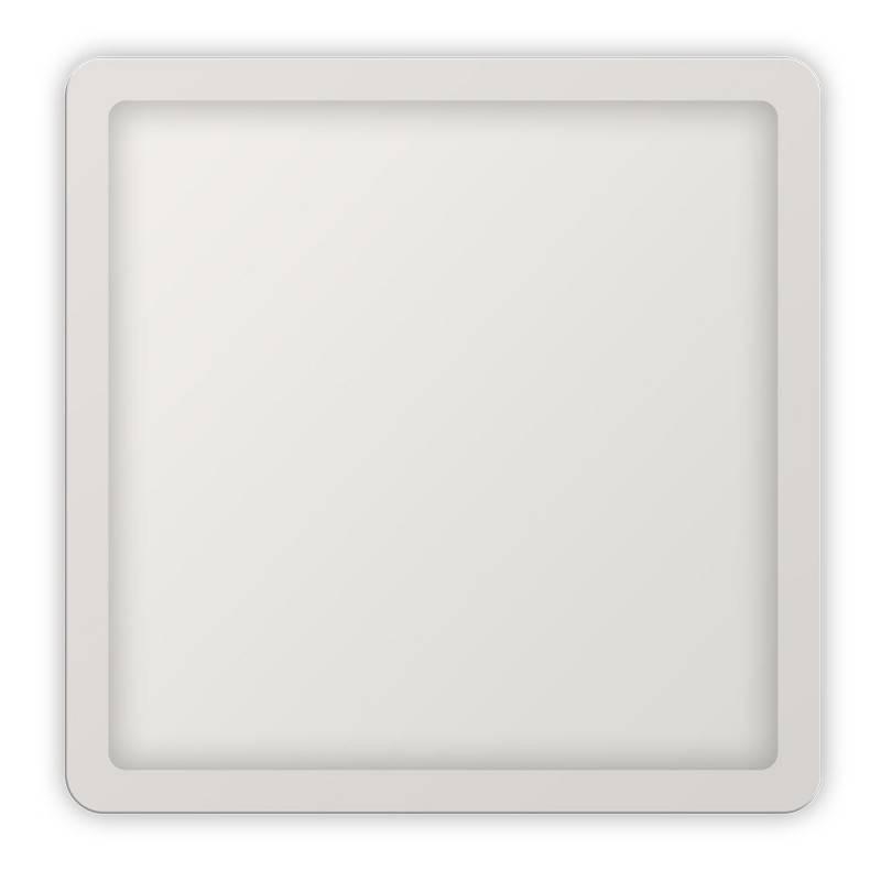 Placa downlight LED quadrada encastrável de diâmetro ajustável 20W IP20