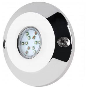 Luz LED RGB submersível de superfície 60W RGB 12V IP68