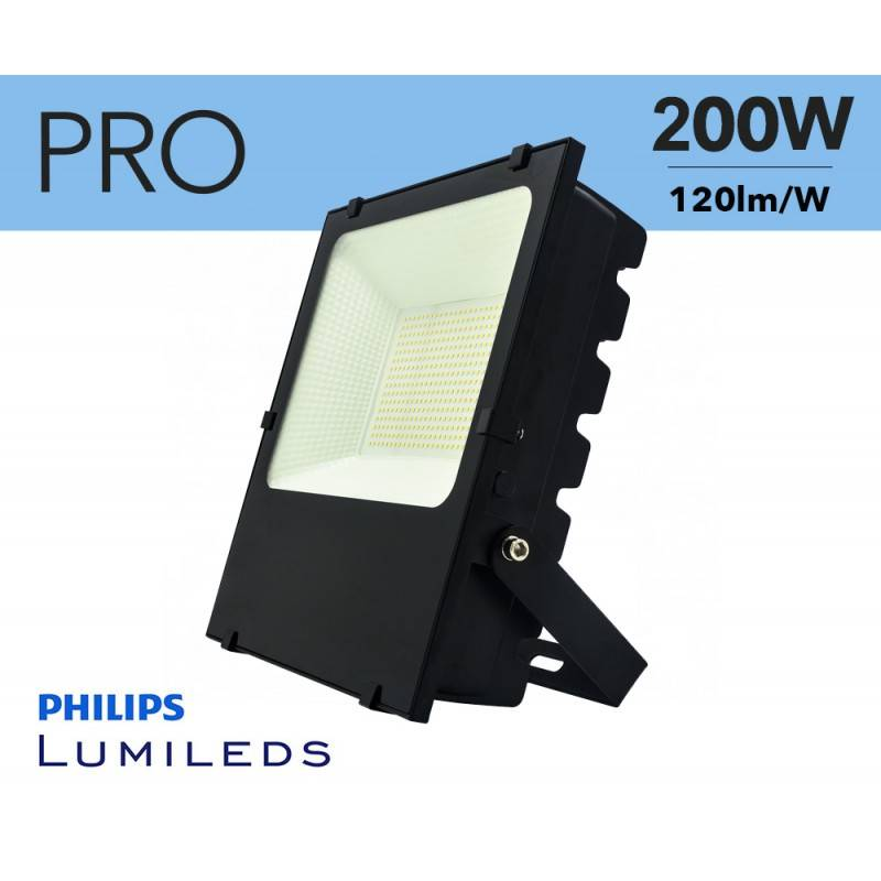 Foco projetor LED 200W Chip Philips IP65