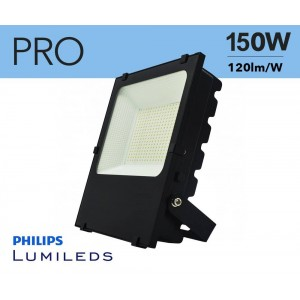Foco projetor LED 150W Chip Philips IP65
