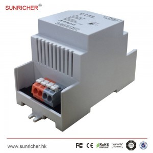 Fonte de alimentação Sunricher para DALI 16V-DC 100-240V / AC 250mA