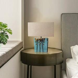 """Candeeiro de mesa de cerámica """"MARGA"""" E27"""