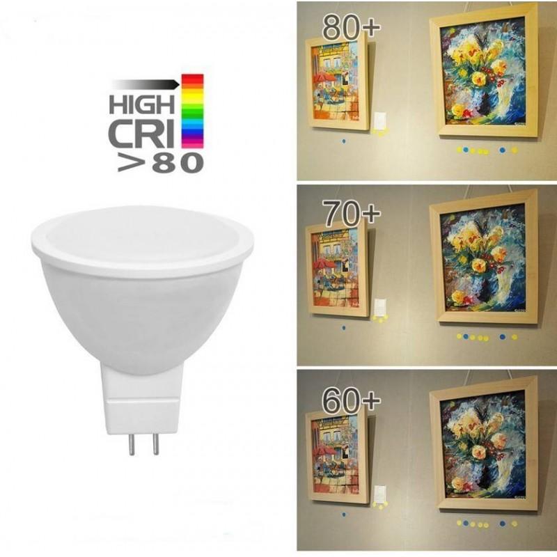 Lâmpada Dicróica LED GU5.3 MR16 7W 12V