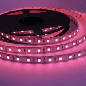 Fita de LED 24V-DC 72W multicor RGB IP20 - Rolo 5 metros