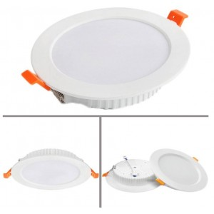 Downlight LED circular profissional encastrável 25W