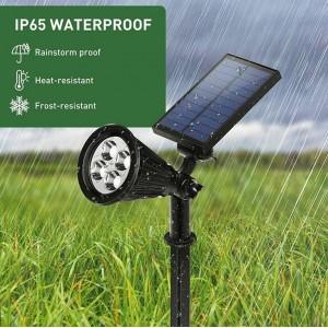 Foco refletor Solar com estaca para jardim 2W