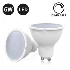 Lâmpada GU10 LED 6W Dimável
