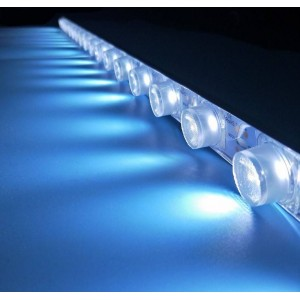 Fita LED rígida 50cm 15W 24V-DC para letreiro de fachadas IP65