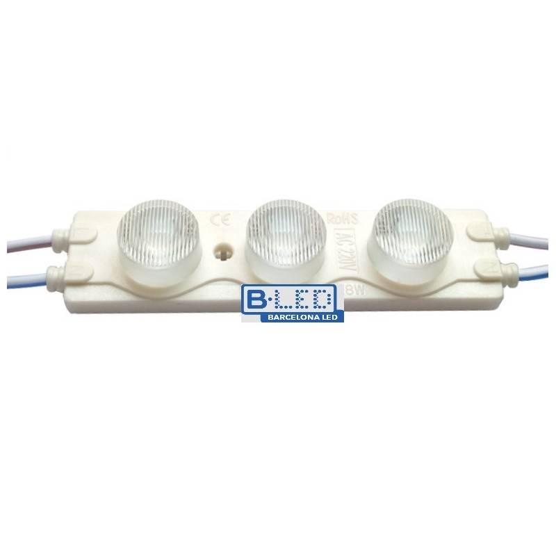 Cadeia de 20 módulos LED para rótulos 2,5W 230V IP65 15 ° 6200 °K