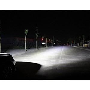 Barra LED para Maquinário, 4x4 e Marítimo 72W -5000lm - Ângulo fechado