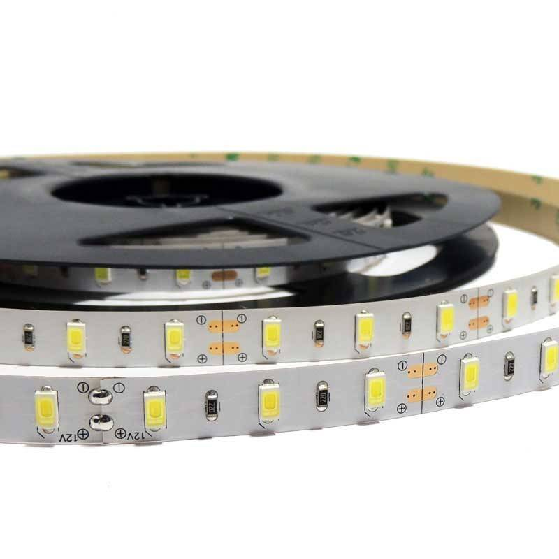 Fita de LED 12V-DC 75W 10  mm monocor IP20 (SMD5630 60CH/M) Rolo 5 metros