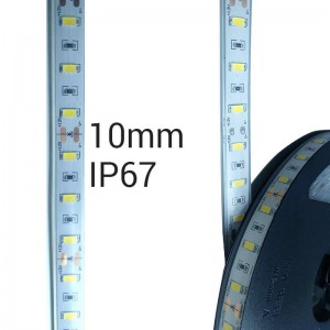 Fita de LED 12V-DC 75W 10mm monocor IP67 (SMD5630 60 ch/m) Rolo 5 metros