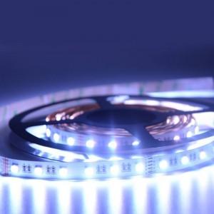Faixa de LED 24V-DC 96W 12  mm RGBW IP20 (SMD5050) Rolo 5 metros