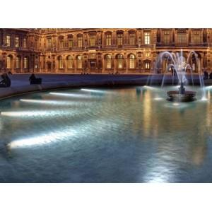 Lâmpada LED PAR56 submergível para piscina 24W IP68 branco frio
