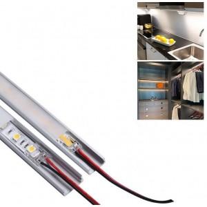 Conector rápido CLIP 2 pinos - Fita a cabo PCB 8mm IP20 máx. 24V