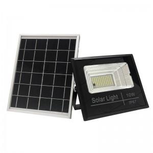 Projetor solar LED de 10W com controle remoto