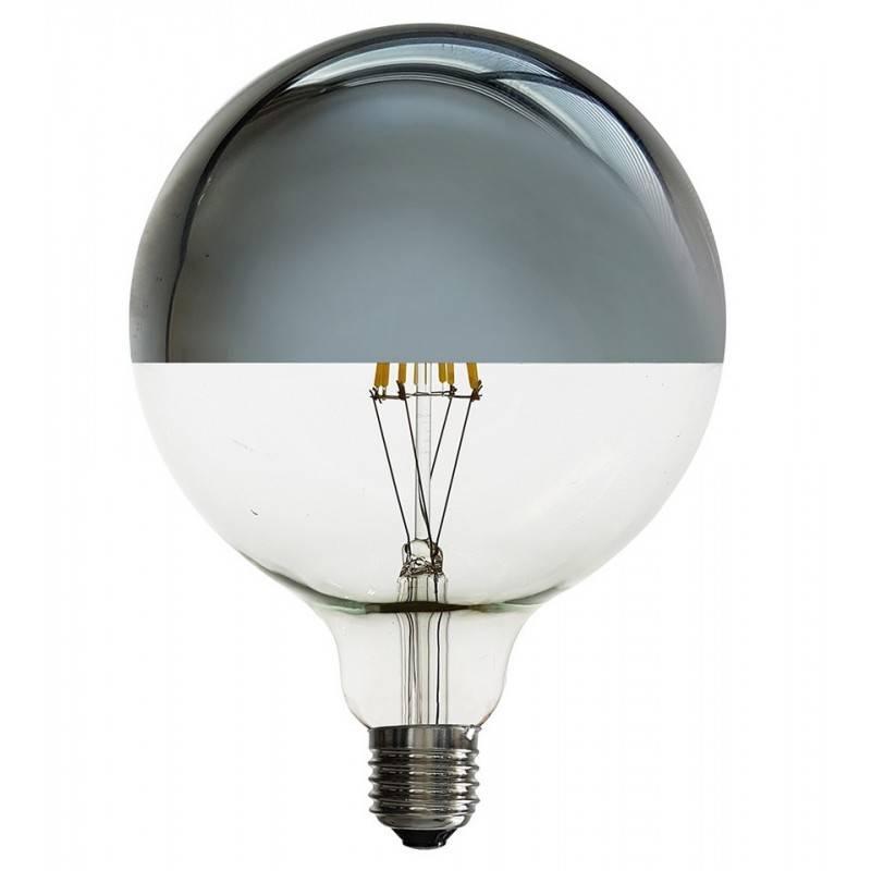 Lâmpada LED Globo de filamento E27 G125 6W com espelho