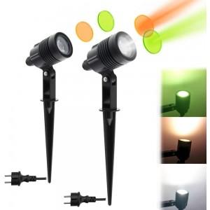 Foco LED com estaca 6W 480lm 230V IP65