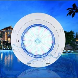 Refletor LED RGB de superfície para piscina 24W 12V-AC IP68