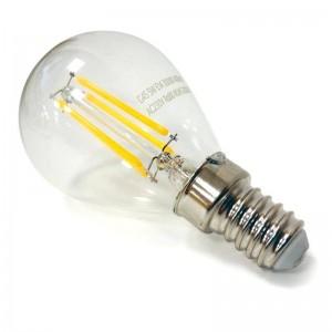 Lâmpada LED de filamento esférico E14 G45 5W