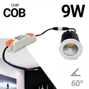 Foco LED dicróica 9W Driver Externo 230V