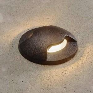 Foco LED encastrável no piso ALDO 2L FUMAGALLI IP67