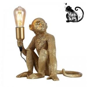 """Candeeiro de mesa Macaco """"RILA"""" de resina"""