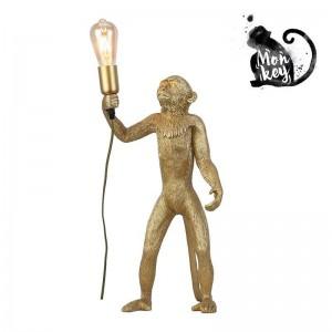 """Candeeiro Macaco de resina com estilo exótico """"MICU"""""""
