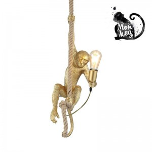 """Candeeiro macaco suspenso """"Ximpa"""""""