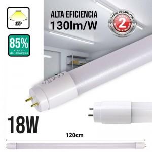 Tubo LED nano PC T8 18W 120 cm opalino