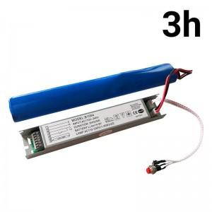 Kit de conversão para luz de emergência para luminárias LED de 20W