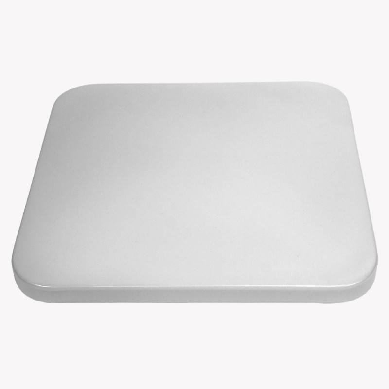 Plafón LED BASIC 24W quadrado de superfície