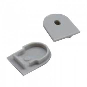 Tampas Laterais perfil de pendurar ou superfície 20x27mm (1un)