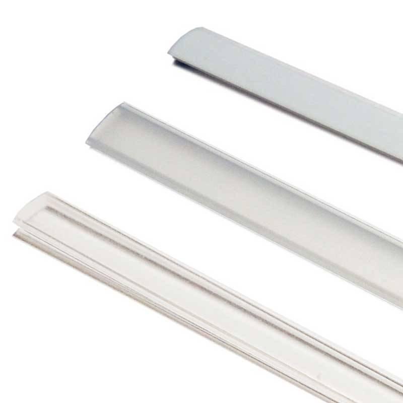 Difusor 16  mm para diferentes perfis Opalino/Fosco/Transparente
