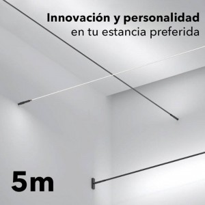 Kit SKYline iluminação linear 120led/m 90W 5m