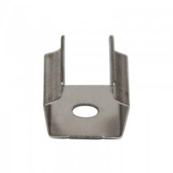 Grampo metálico para fixação Perfil Iluminador acima/abaixo 18x49mm (1un)