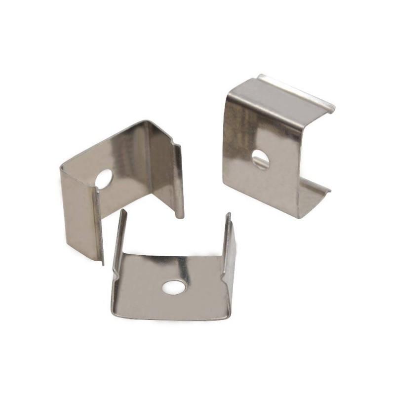 Grampo metálico para fixação de perfis 17X8-15