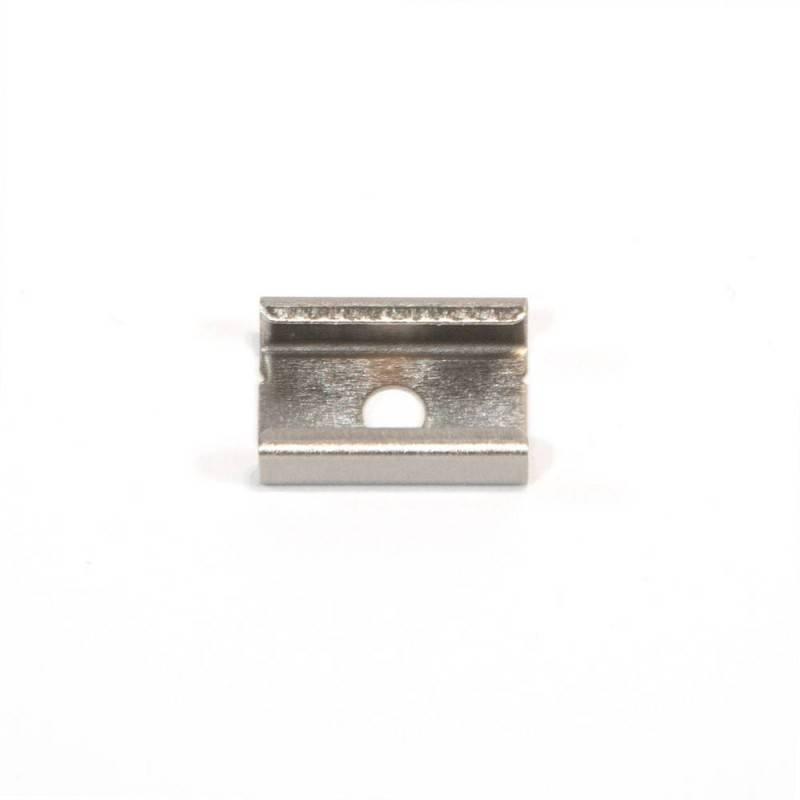 Grampo metálico para fixação de perfis 8X12