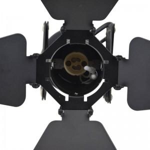 """Candeeiro de teto aplique vintage extensível """"CINEMA"""" GU10 170x170x520mm"""