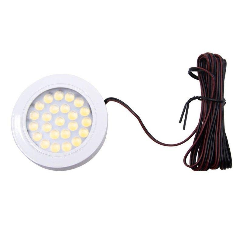 Foco LED de superfície MINI SLIM 1,7W 12V-DC
