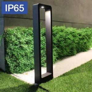 Coluna exterior para caminhos IP65 de 10W LED