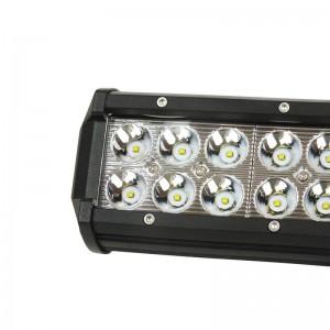 Luminária barra de LED para maquinaria, automóvel e náutica 72W -5000lm - Ângulo fechado
