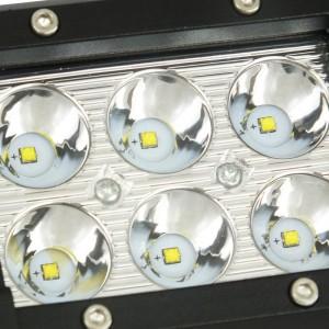 Foco LED para maquinaria, automóvel e náutica 18W -1800lm- Ângulo aberto
