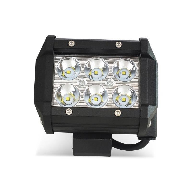 Foco LED para maquinaria, automóvel e náutica 18W -1800lm - Ângulo fechado