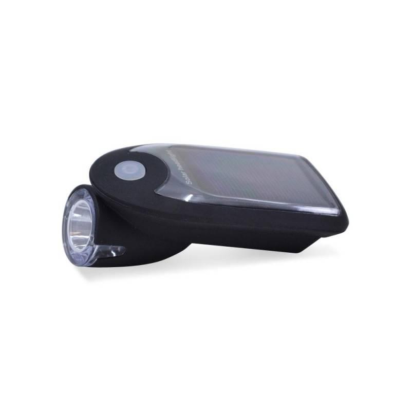 Farol para bicicleta USB solar 240lm