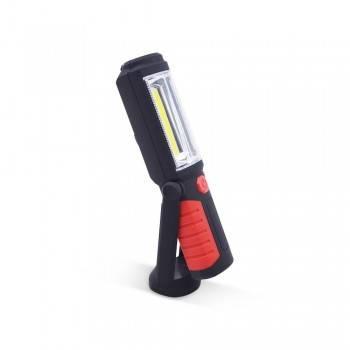 Lanterna de trabalho LED regulável e magnética