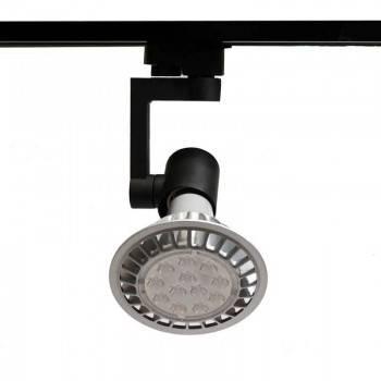 Porta-candeeiro de Carril monofásico para lâmpada PAR 30 E27