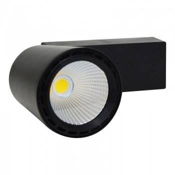 Projetor de Carril LED 25W monofásica chip COB