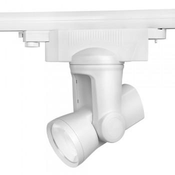Projetor de Carril Monofásico RGBW 25W direcionável 230V-AC (Controlo WIFI / APP telemóvel)