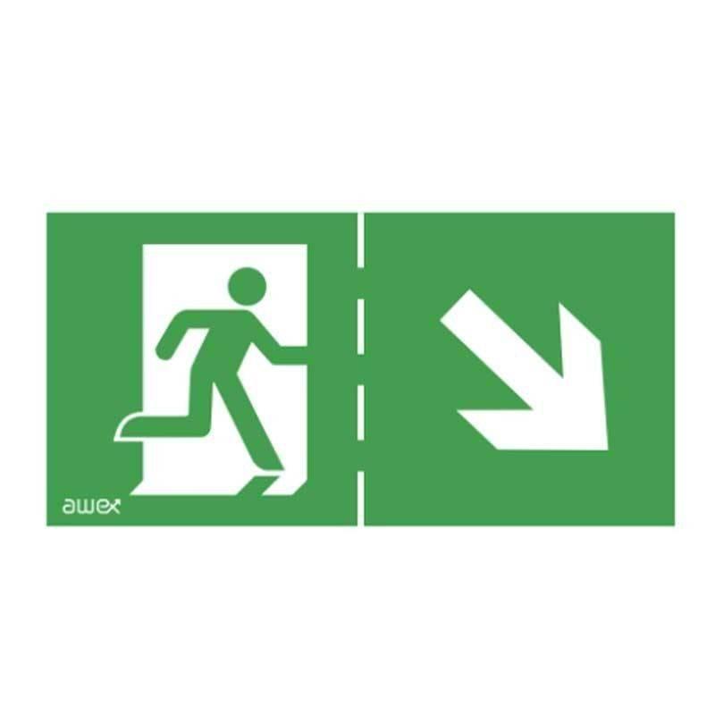 Pictogramas de Evacuação para as Luzes de Emergência
